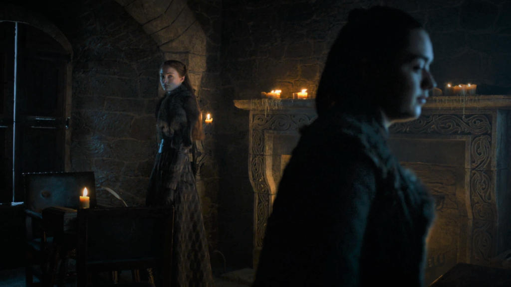 11 705 - Winterfell - Sansa, Arya 1