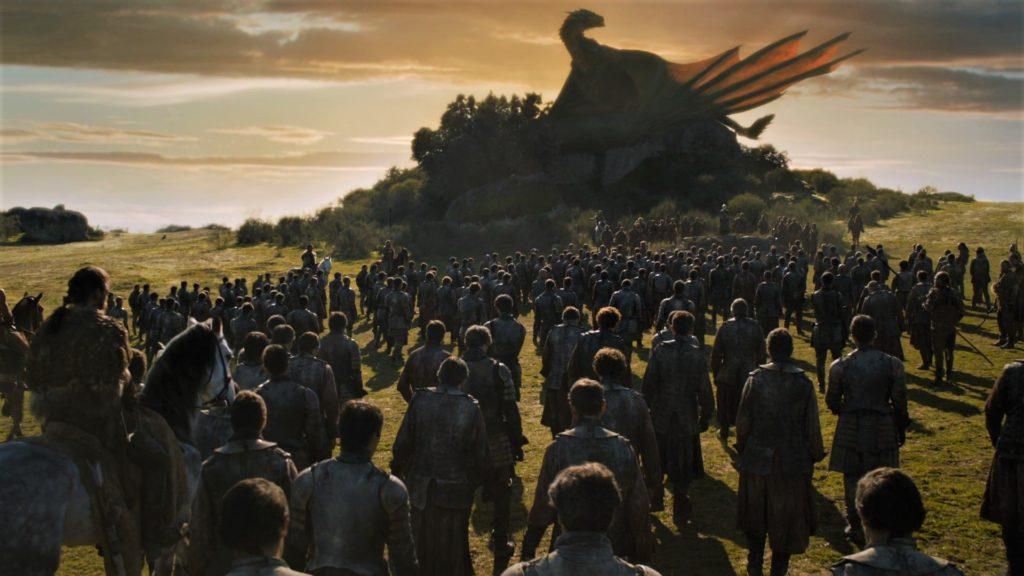 15 Highgarden Field of Fire 7x05 (1) - Drogon, Daenerys