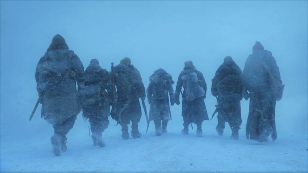 19 705 - Eastwatch - Jon, Gendry, Jorah, Tormund, Sandor, Beric, Thoros 1