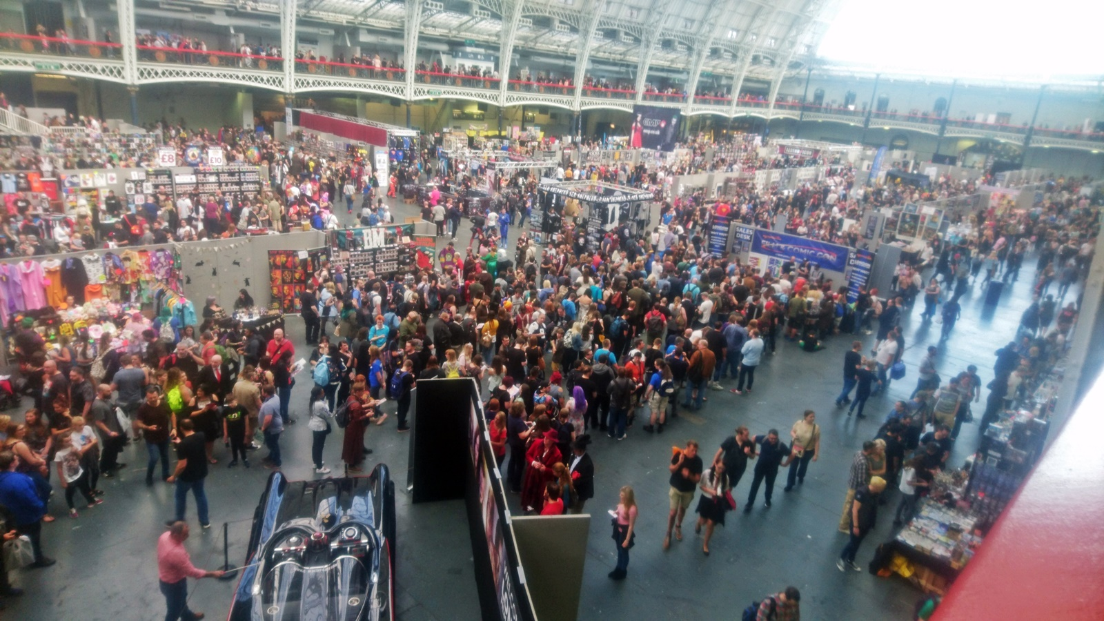 London Film and Comic Con. Photo courtesy of the author.