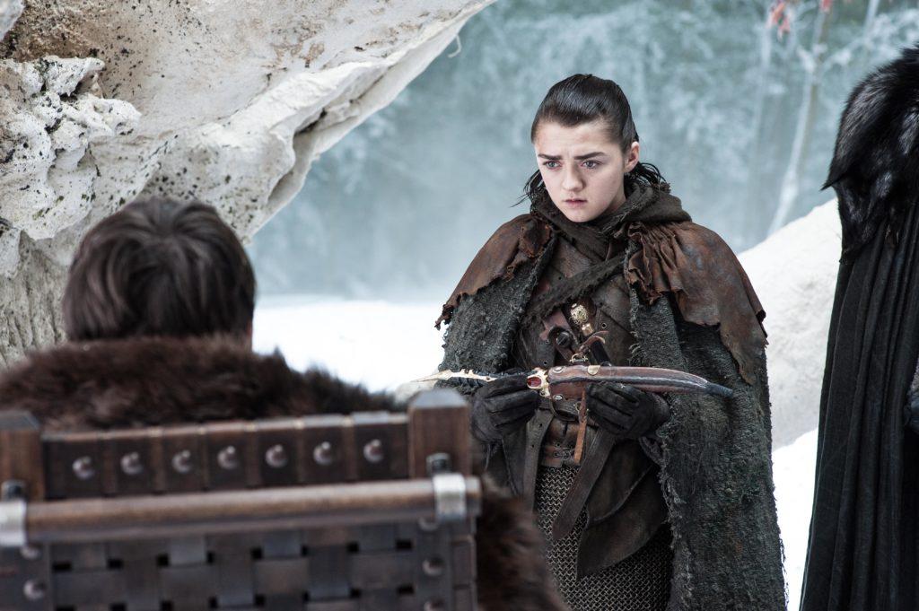 704 - Winterfell - Arya, Bran