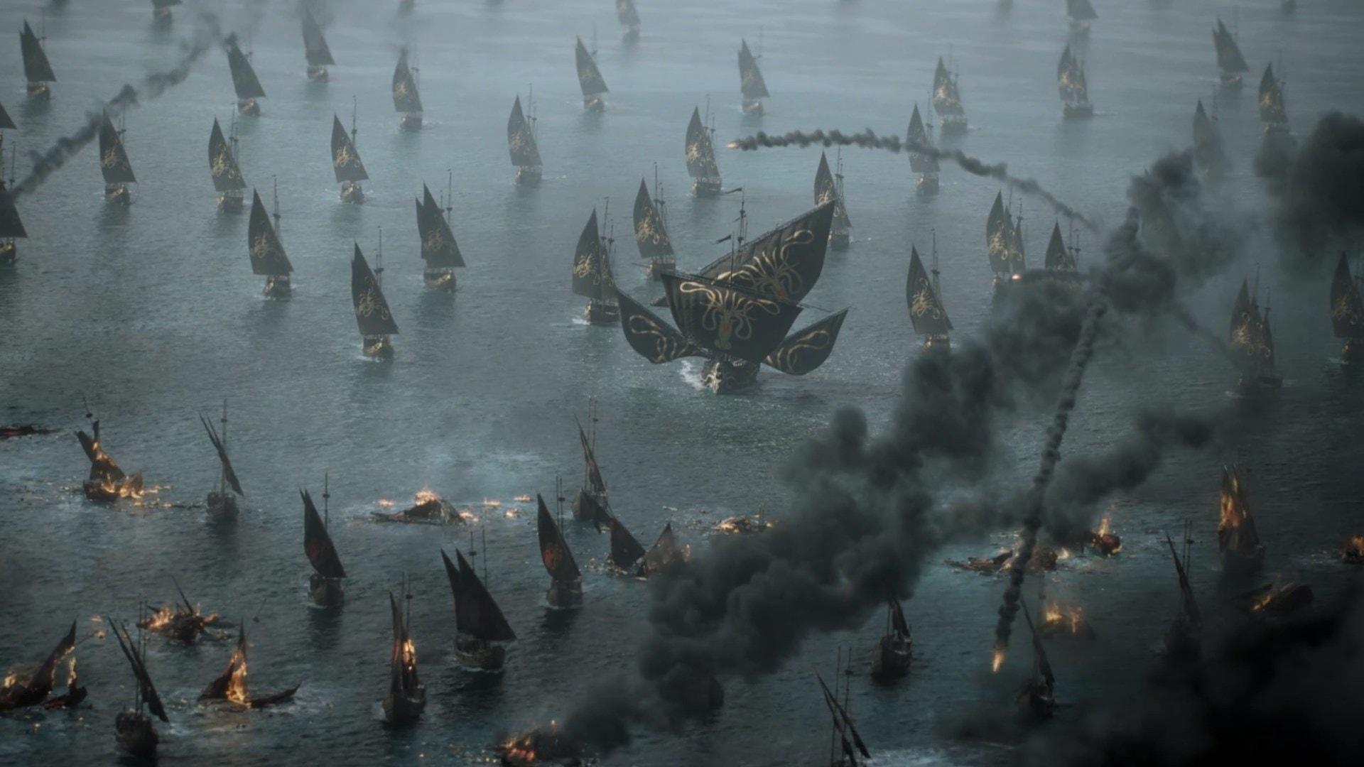 Euron Fleet Casterly Rock 703 Season 7 A Queen's Justice