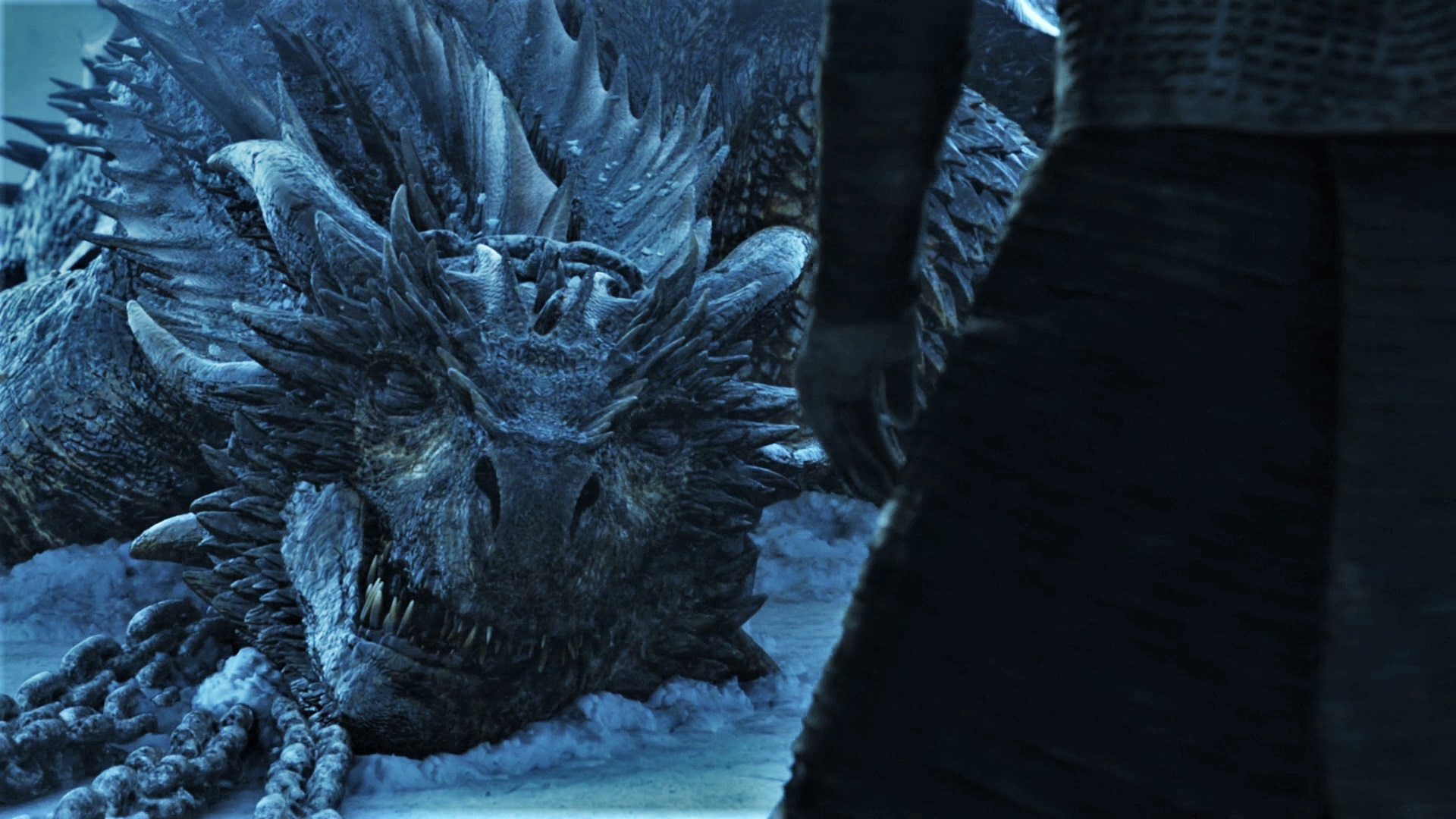 It may be one of the reasons why Season 7 of 'Thrones' landed on many critics' Best of 2017 lists, but Viserion's death still hurts.