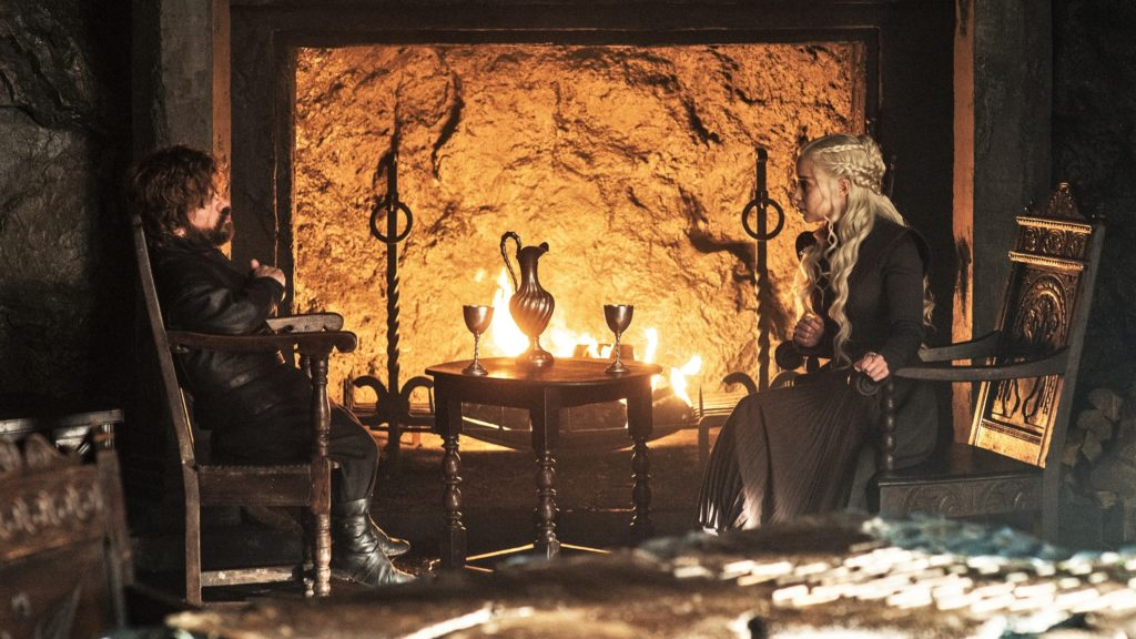 706 - Dragonstone - Daenerys, Tyrion 1