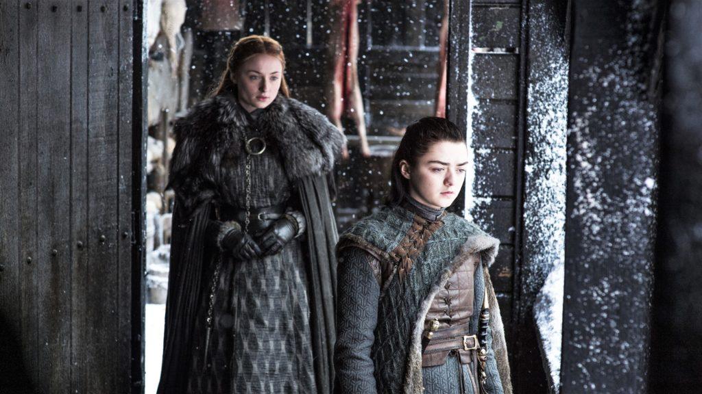 706 - Winterfell - Sansa, Arya 1