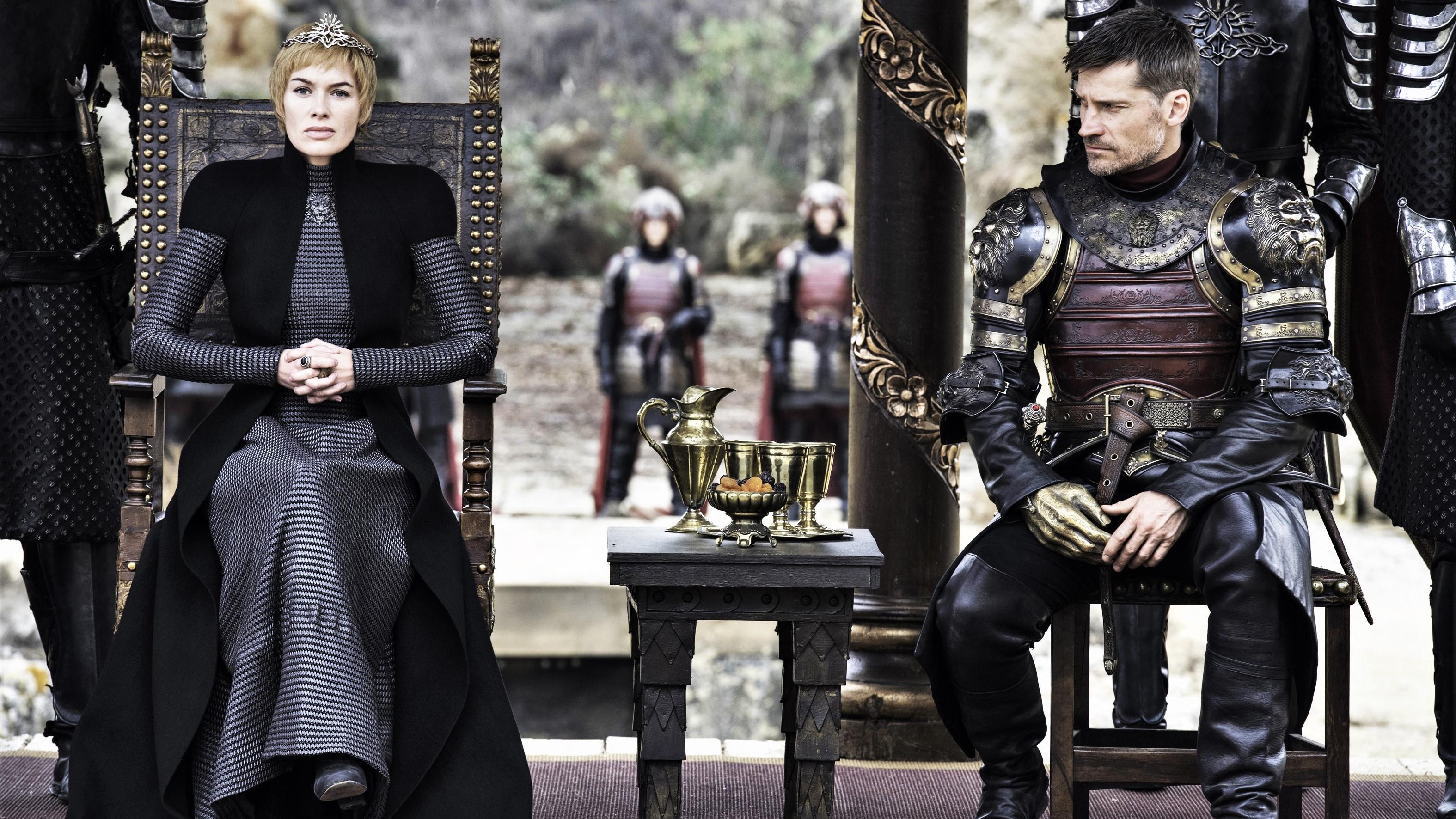 707 - King's Landing Dragonpit - Cersei, Jaime 1