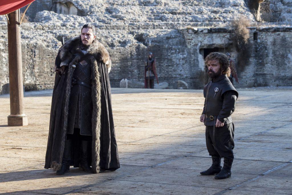707 - King's Landing Dragonpit - Jon, Tyrion 1