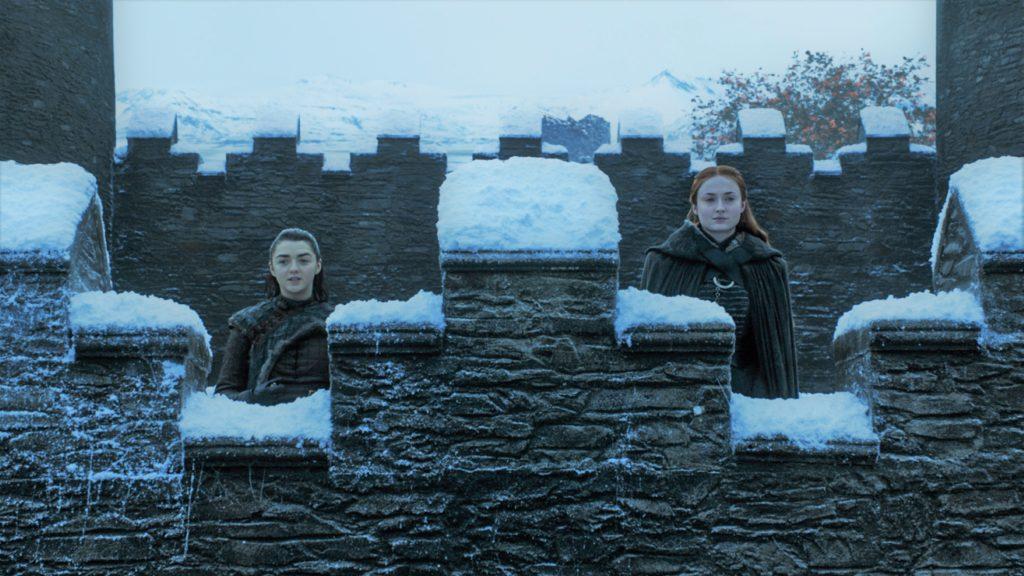 707 - Winterfell - Sansa, Arya 1