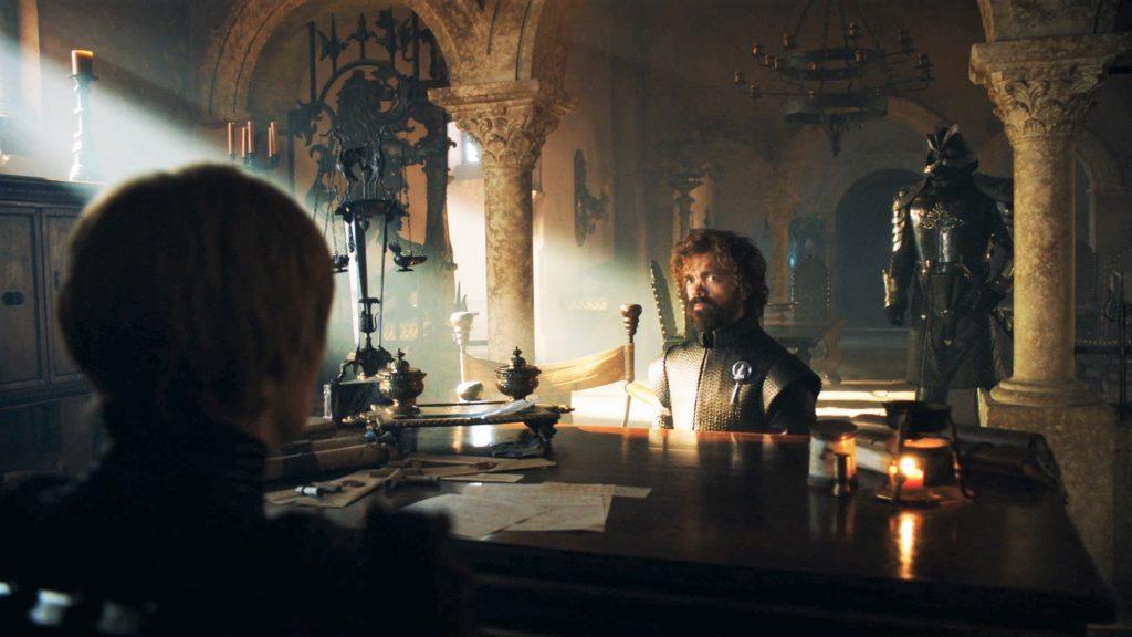 7x07 King's Landing Cersei Tyrion 1