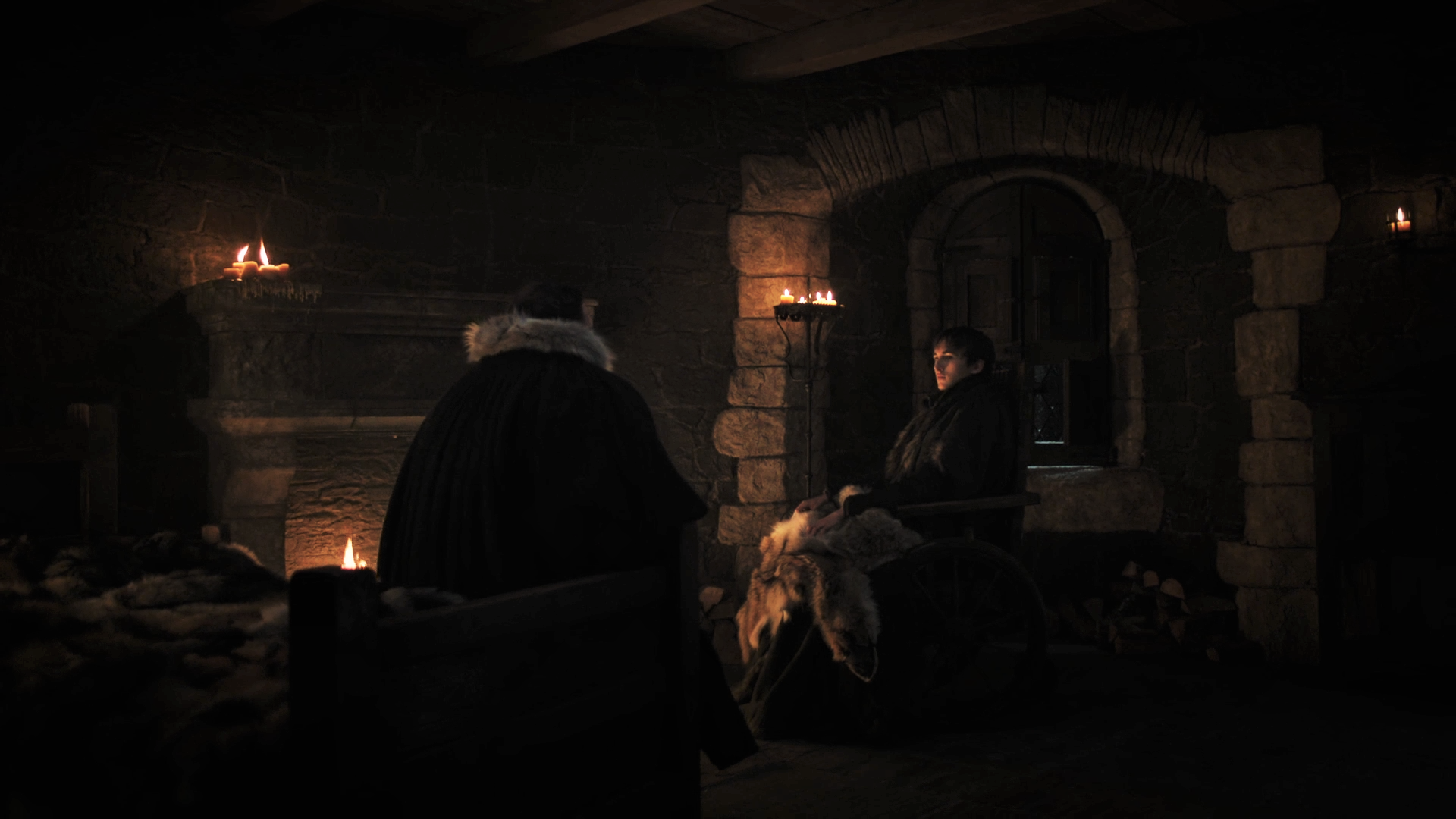7x07 Winterfell Sam Bran