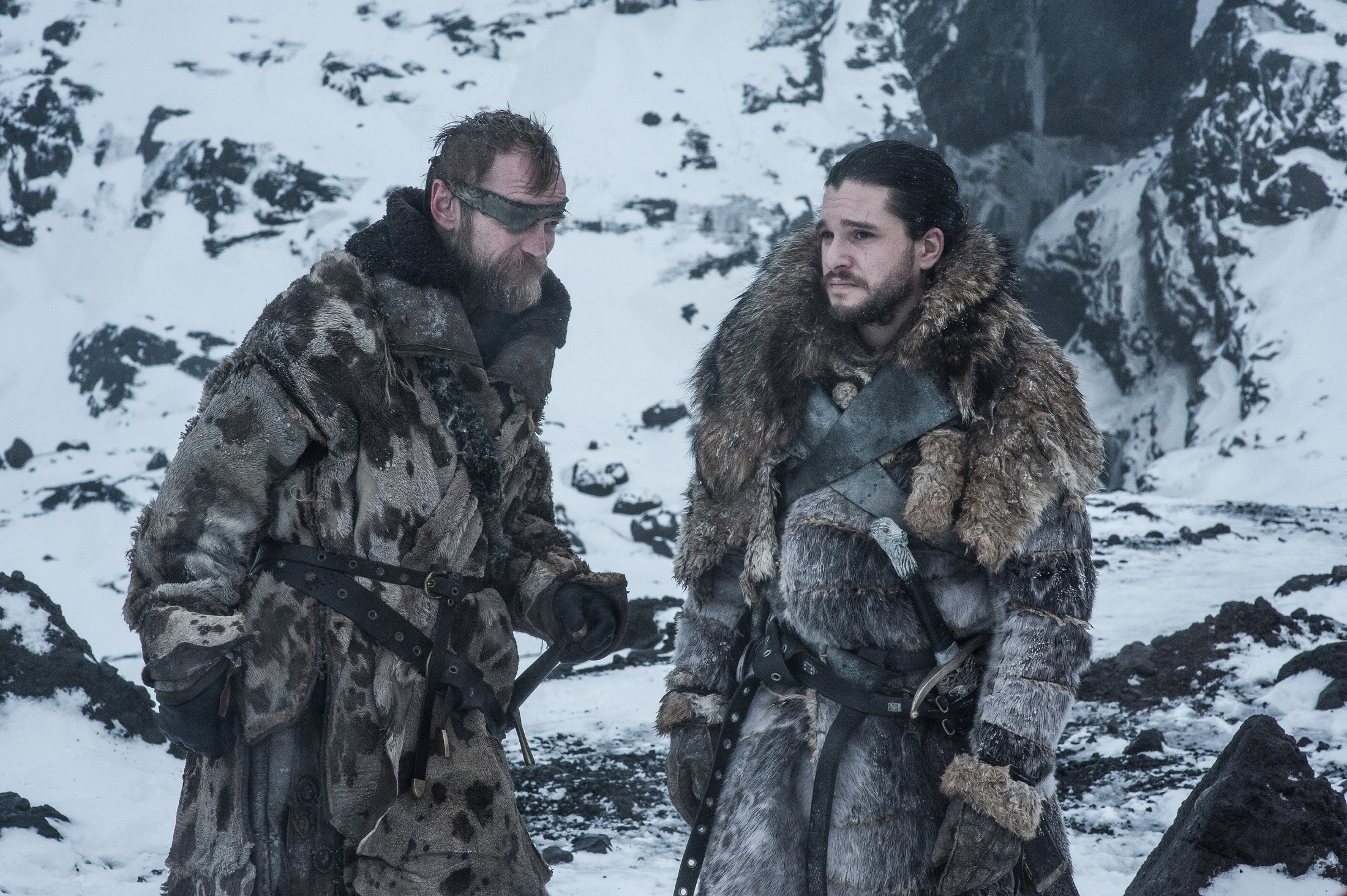 Beric Jon Beyond the Wall