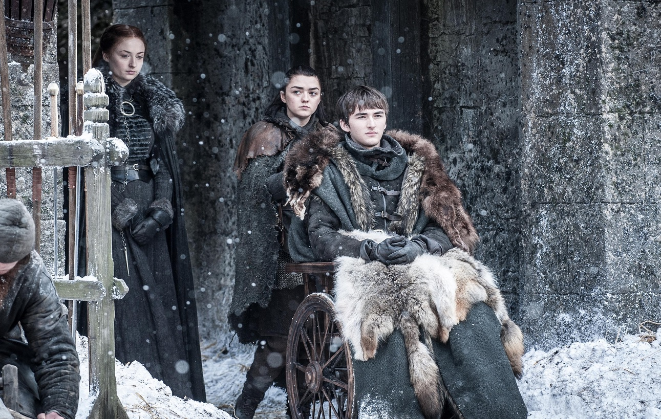 Bran Arya Sansa The Spoils of War