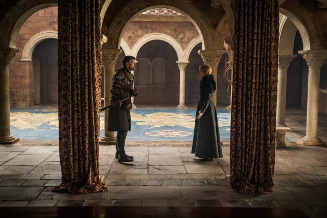 Nikolaj Coster Waldau as Jaime Lannister and Lena Headey as Cersei Lannister. Photo: HBO