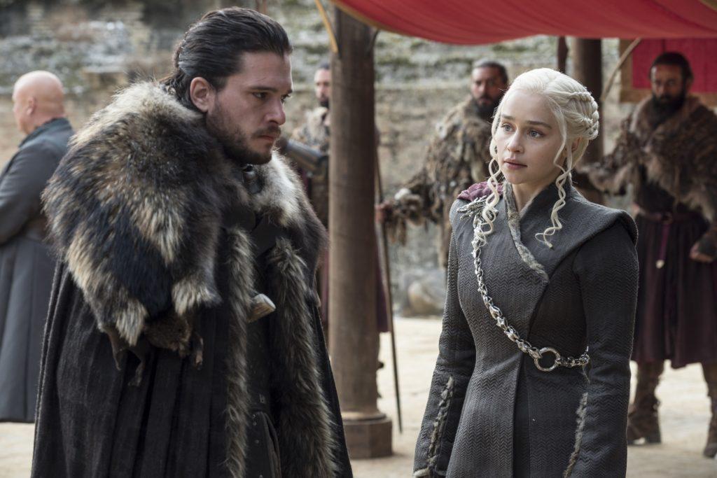 Daenerys Jon Dragonpit