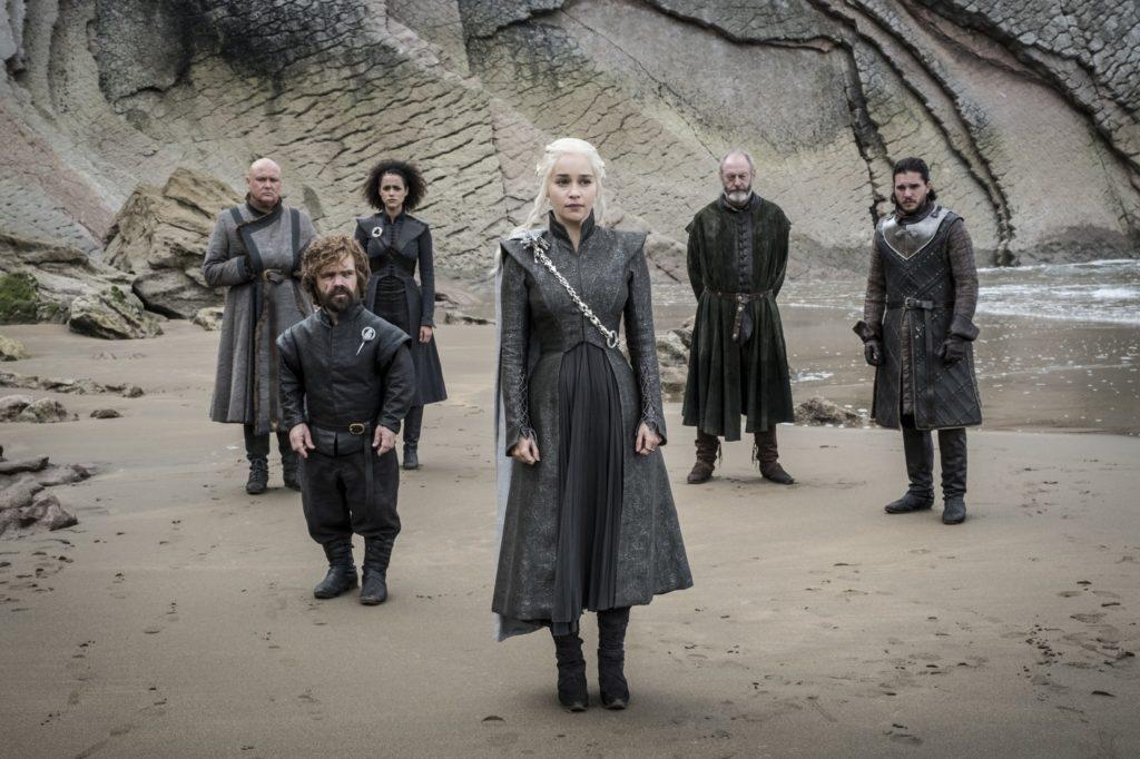 Daenerys Jon Varys Missandei Tyrion Spoils of War