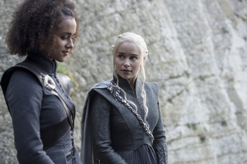 Daenerys can't believe this shit is happening... again
