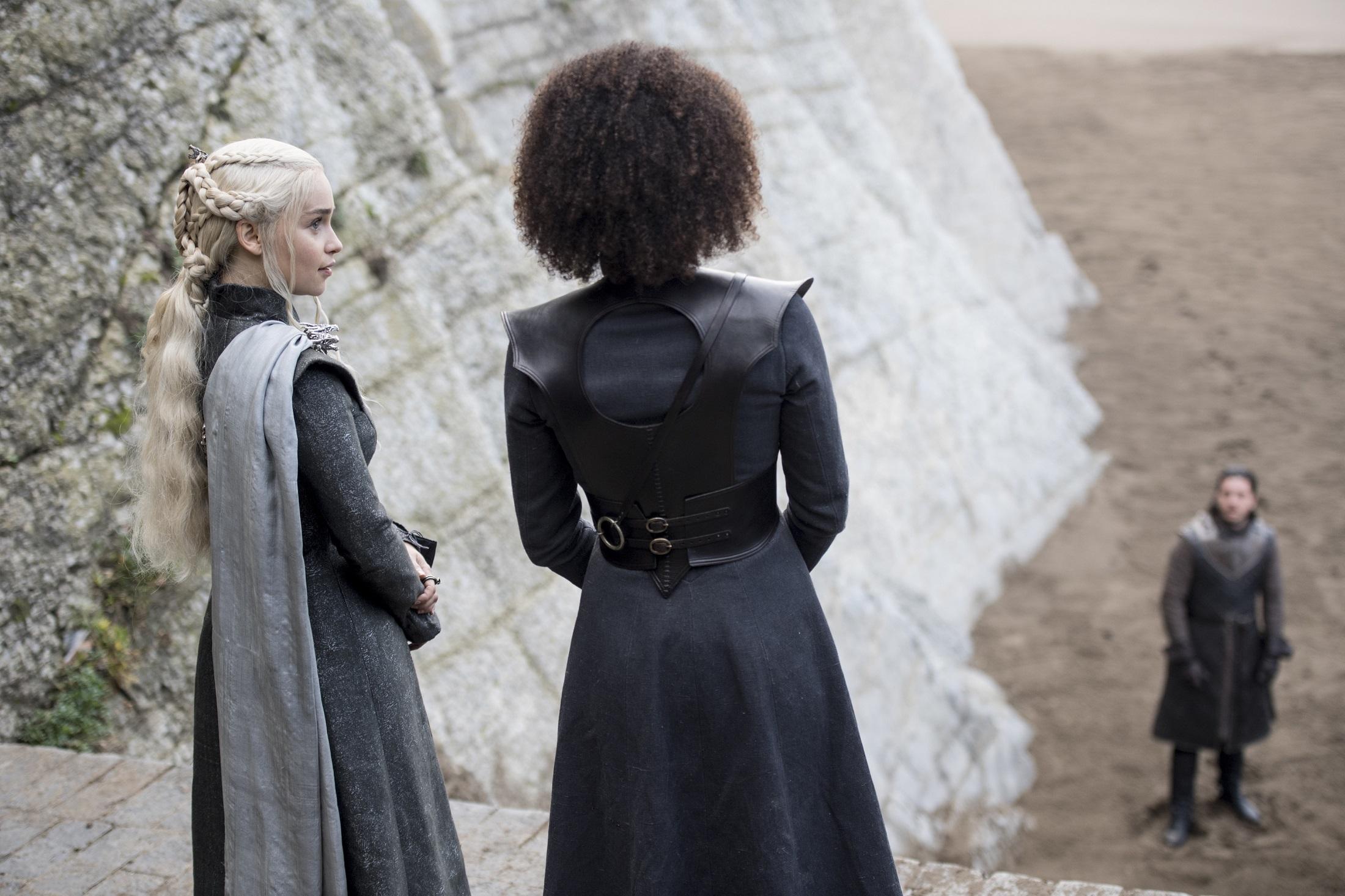 Daenerys Missandei Spoils of War