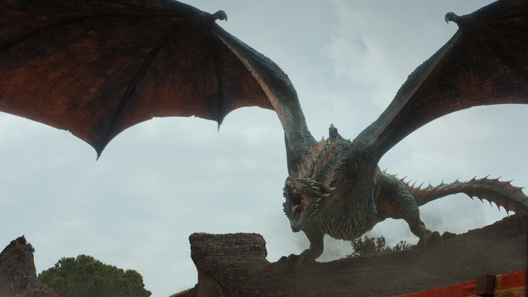 Daenerys arrives