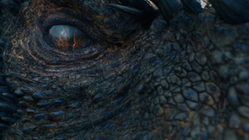 Drogon closeup Eastwatch