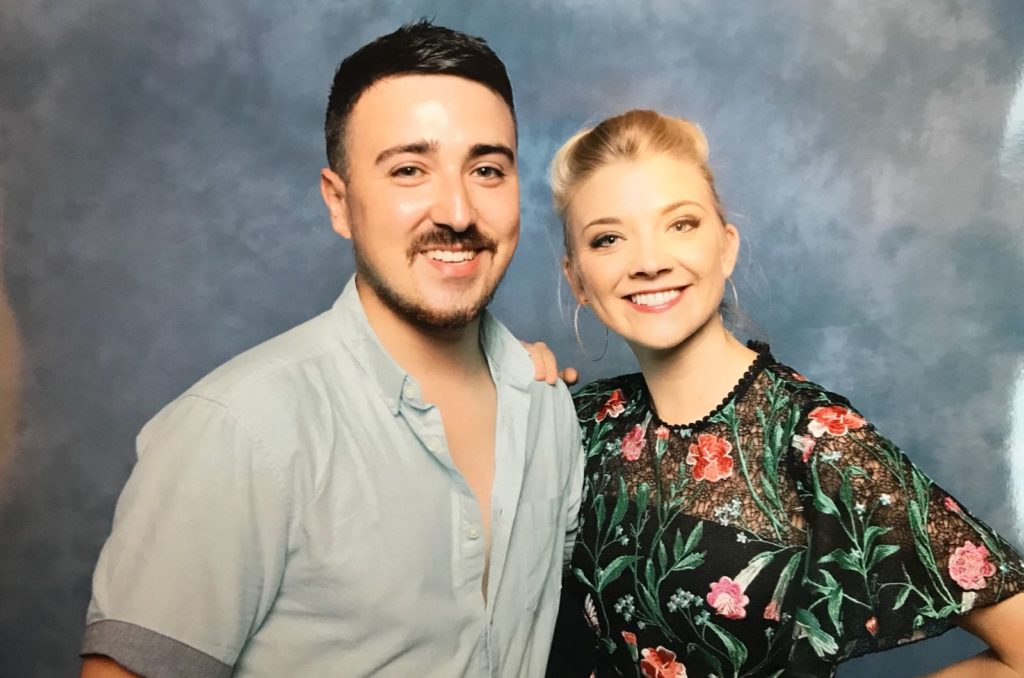 Natalie Dormer and @WightsKing.