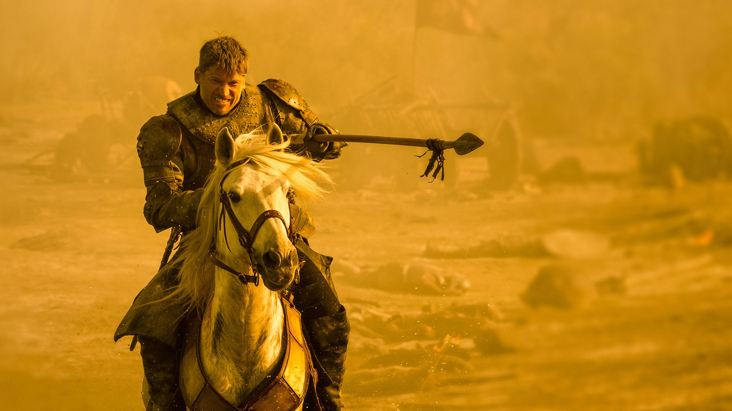 Jaime Lannister spear The Spoils of War
