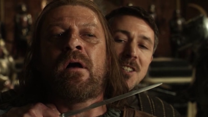 Littlefinger betrays Ned in You Win or You Die