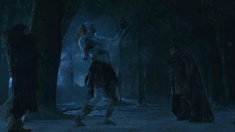 Sam slays the White Walker