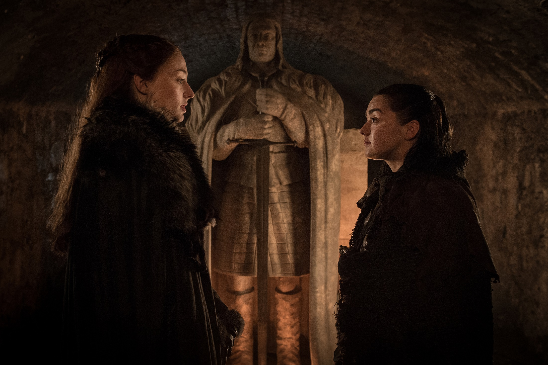Sansa and Arya The Spoils of War