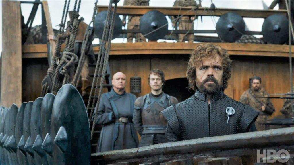 Tyrion Theon Varys Fleet  Season 7 707