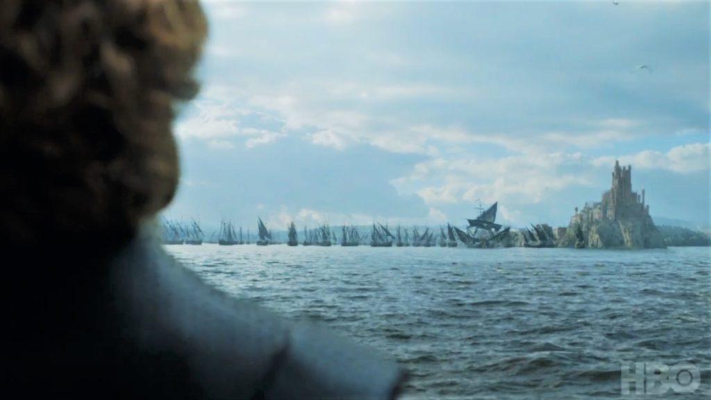 Tyrion King's Landing Red Keep Euron Fleet  Season 7 707