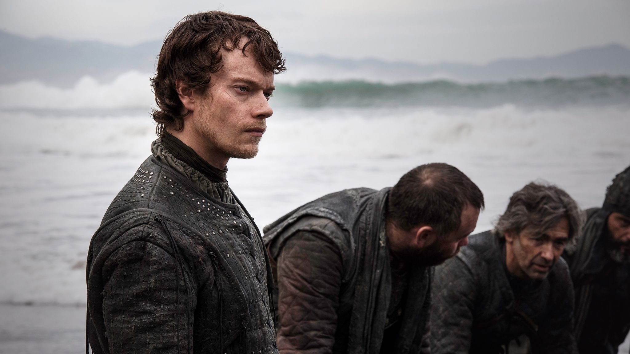 Theon ashore The Spoils of War
