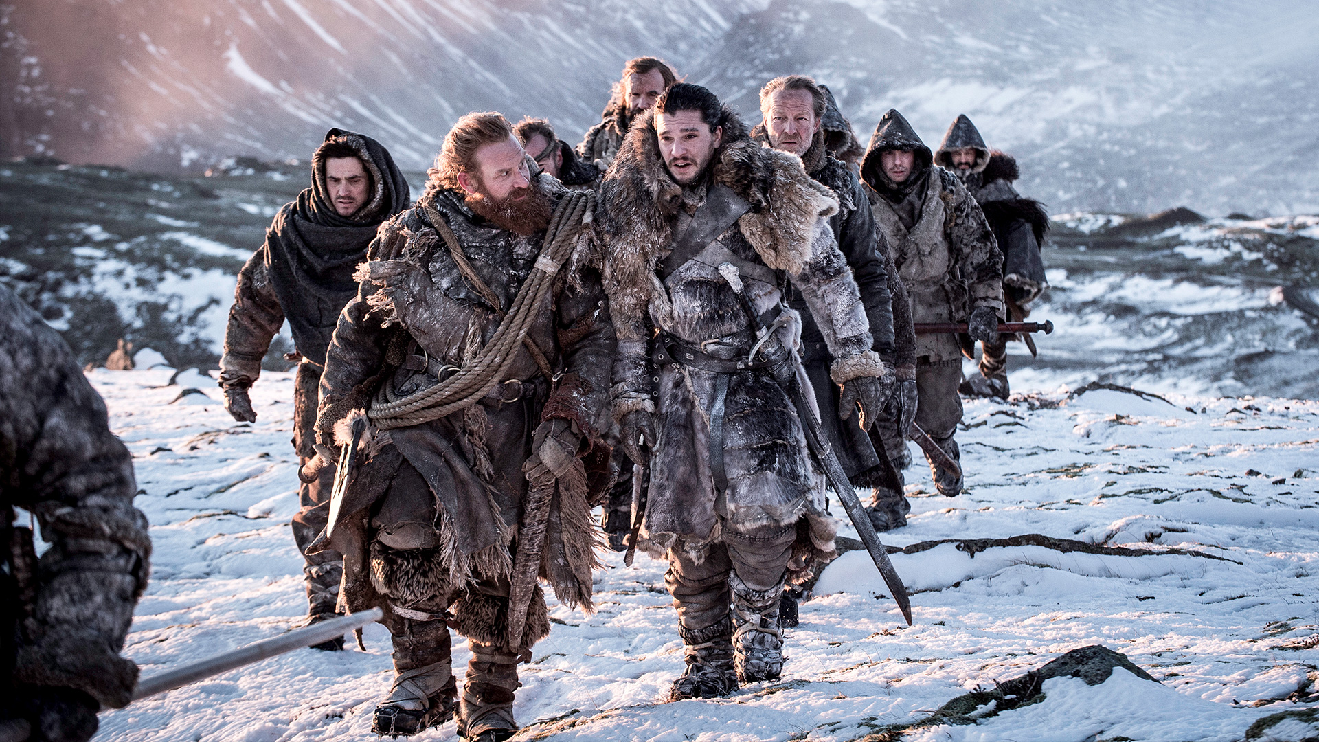"A scene from ""Beyond The Wall,"" an episode highlighted in the special feature ""Imagination To Reality: Inside The Art Department"" on the Season 7 Blu-Ray of ""Game of Thrones."""