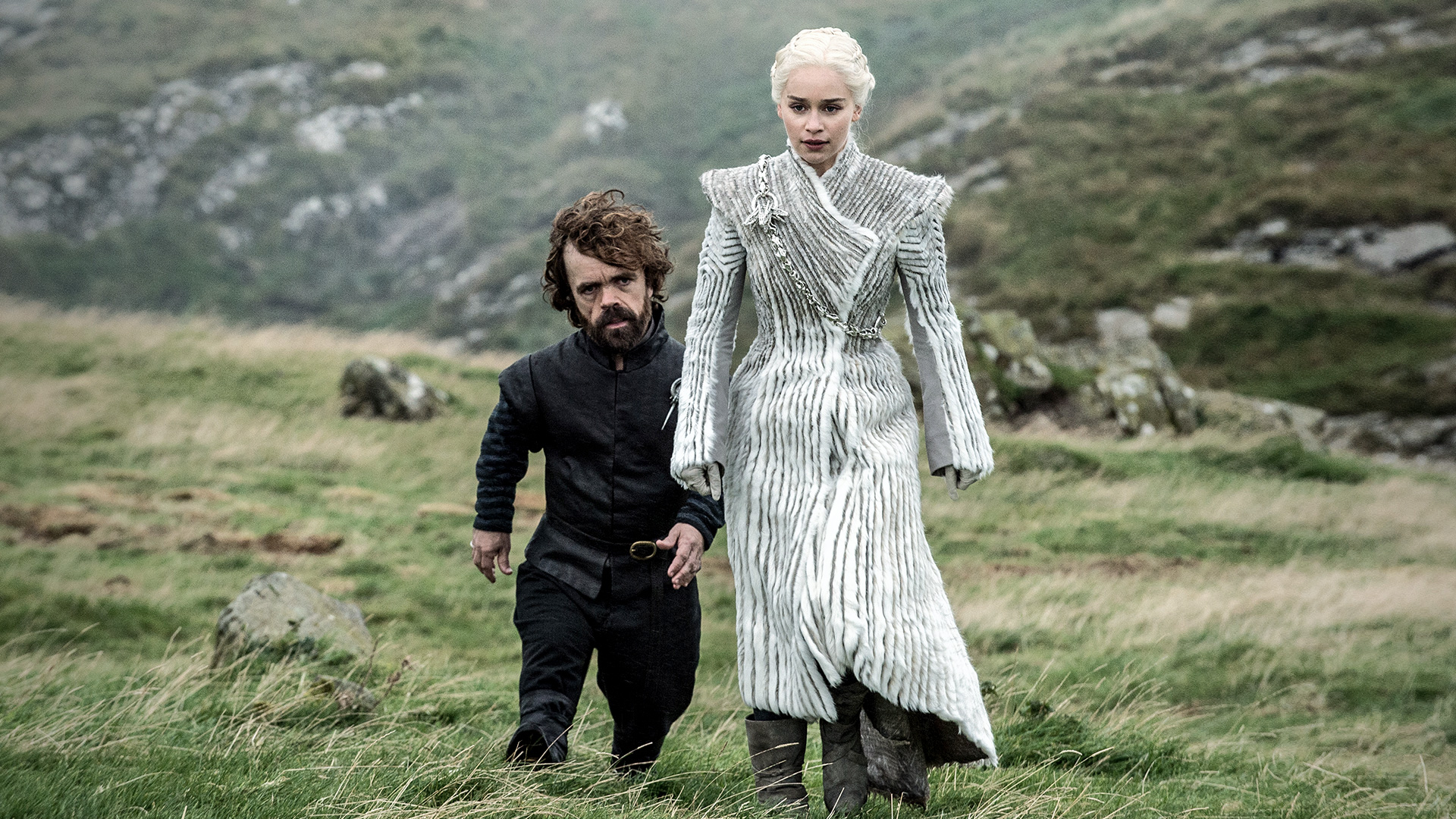 Tyrion Daenerys White Outfit Beyond the Wall