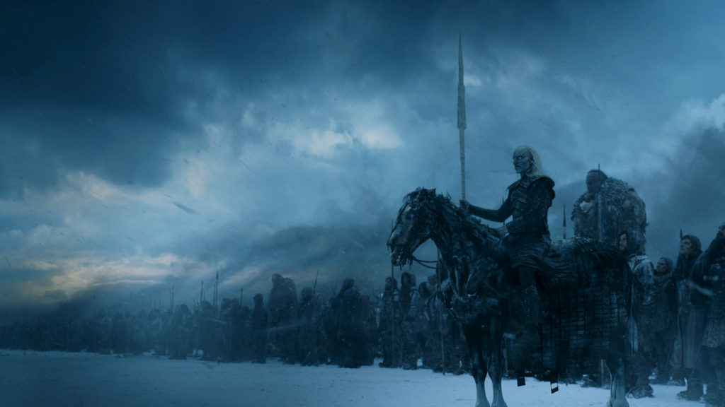 White Walkers the Wall Season Finale