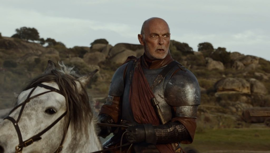 Randyll Tarly amazed by the numbers