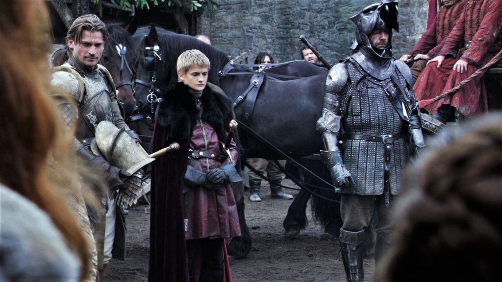 1x01 Jaime in Winterfell Joffrey Sandor