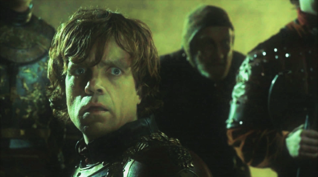 2x09 Blackwater Tyrion Wildfire Explosion