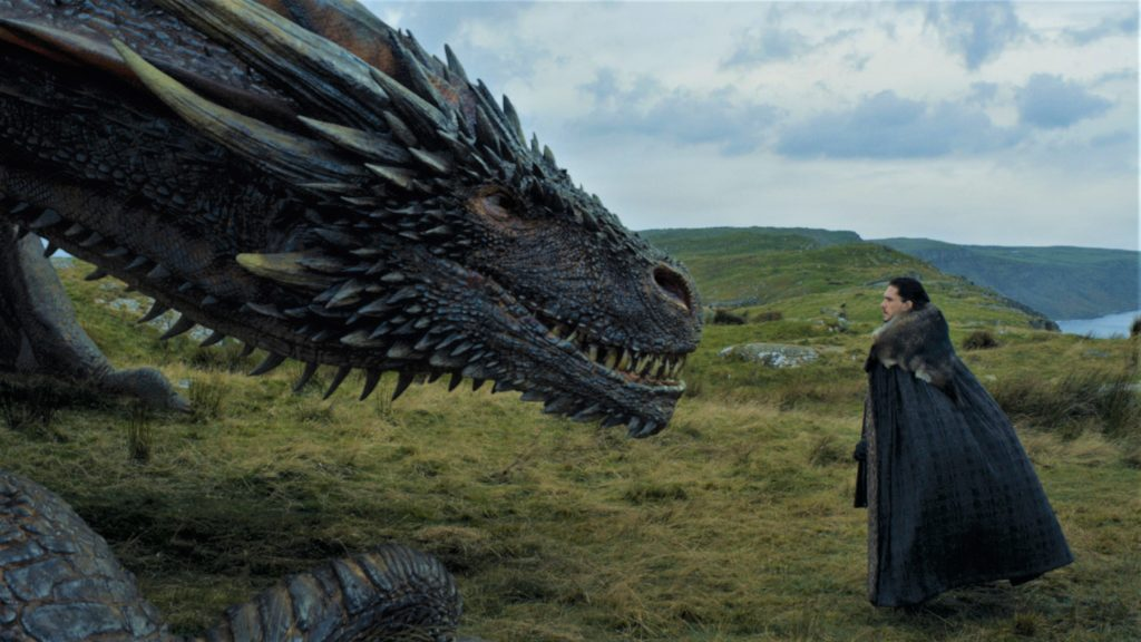 705 - Dragonstone - Drogon, Jon 1