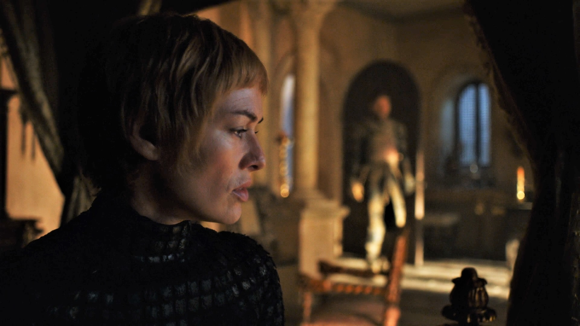 Lena Heady as Cersei Lannister.