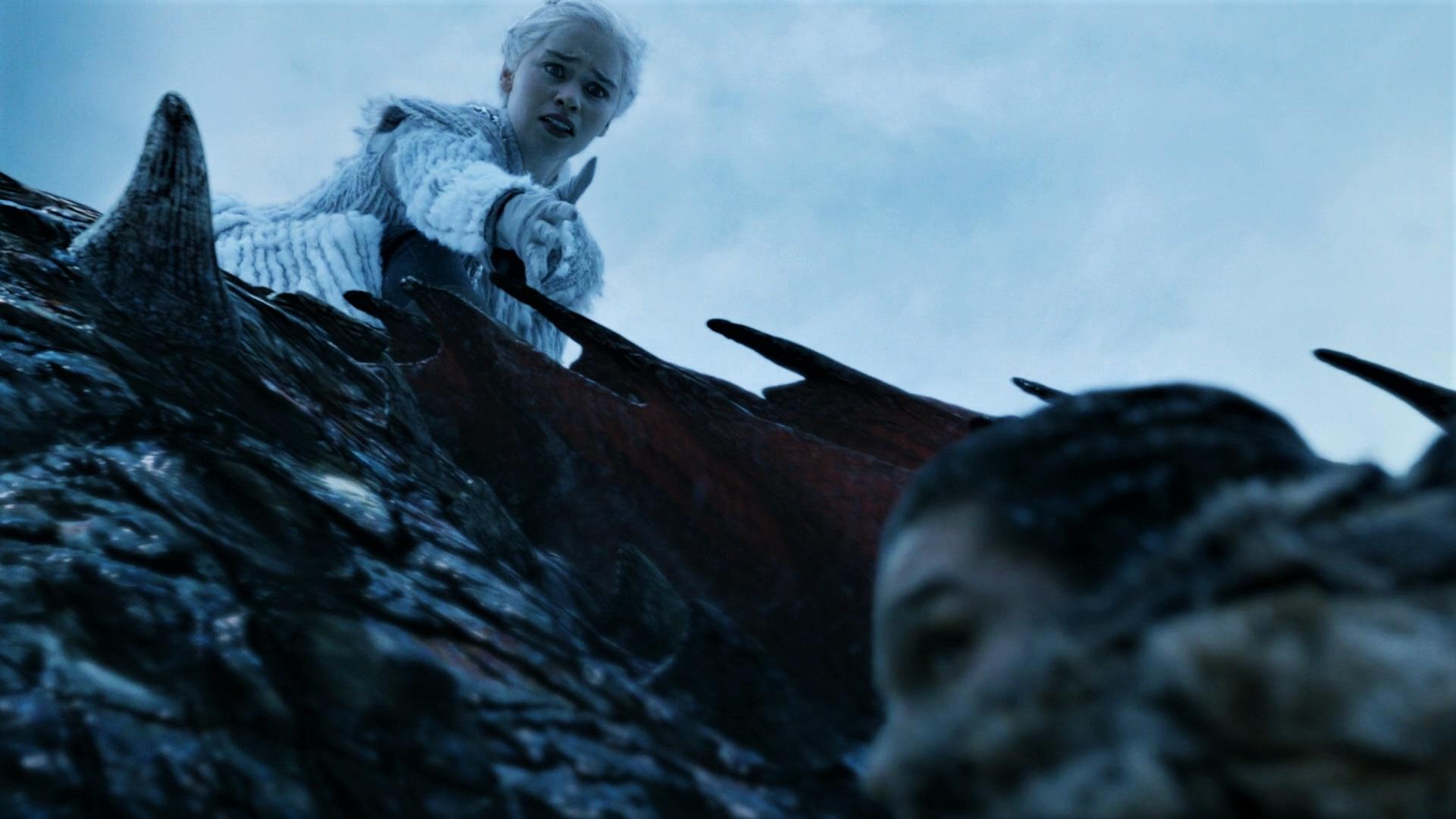 7x06 Daenerys Jon Frozen Lake