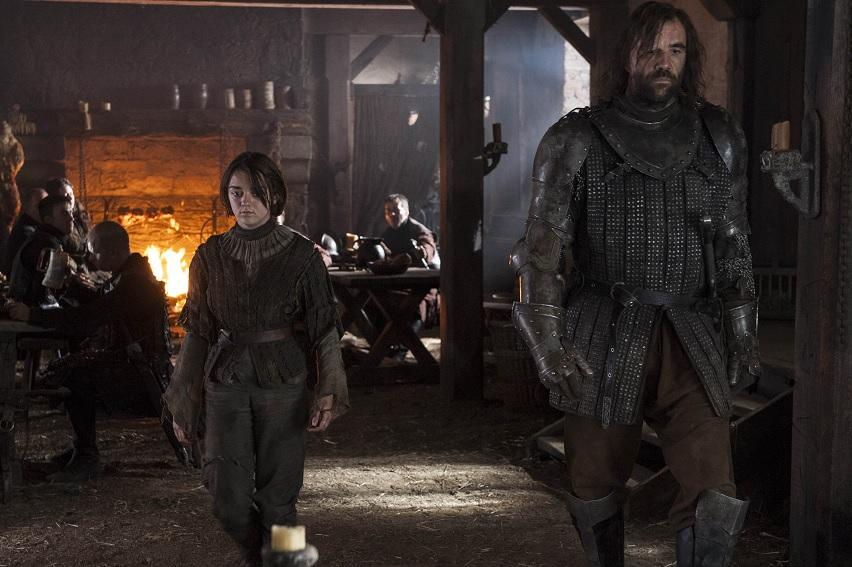 Arya has come a long way since traveling with the Hound in earlier seasons.