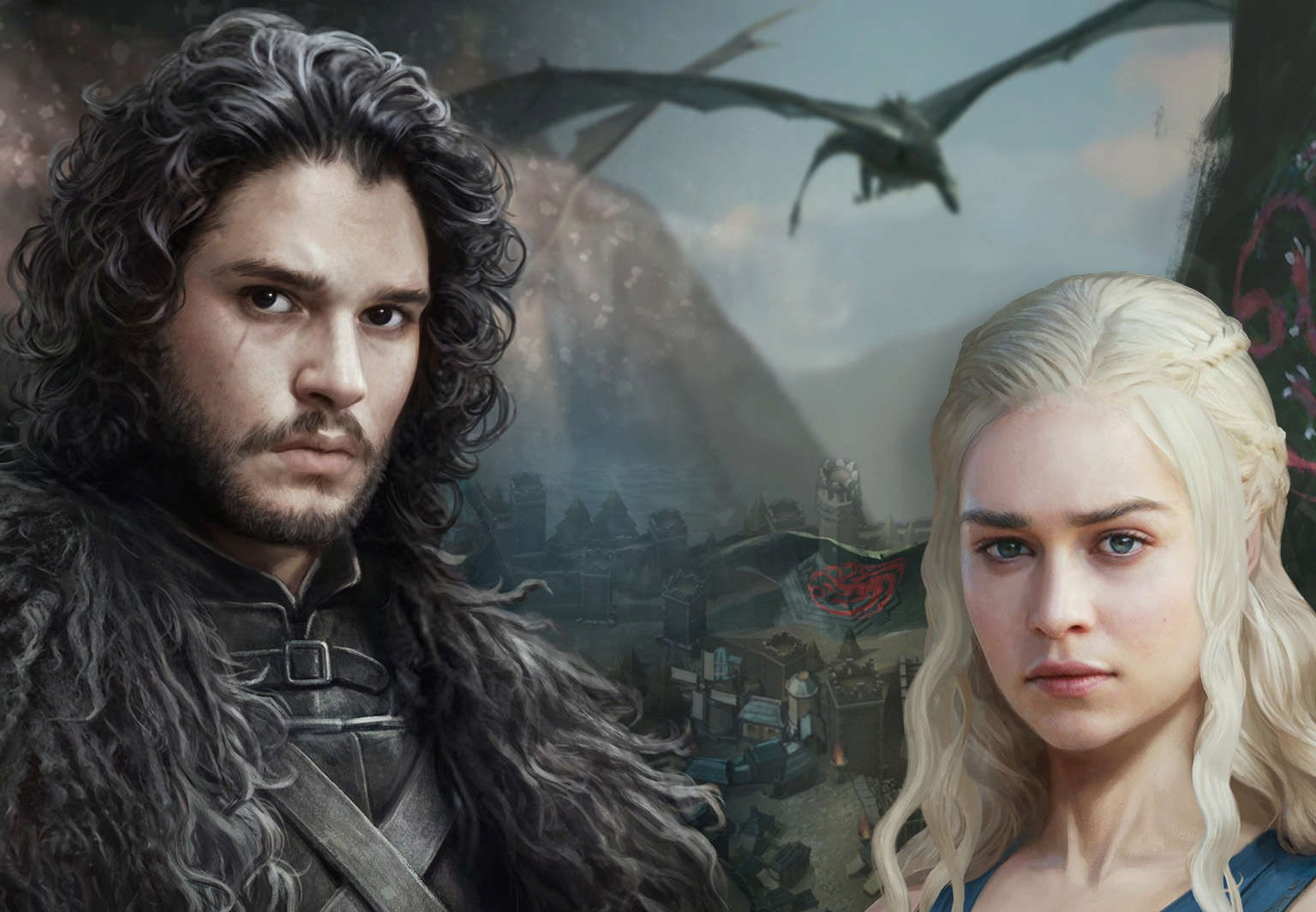 GOT Conquest Fight for the Crown Jon Snow Daenerys
