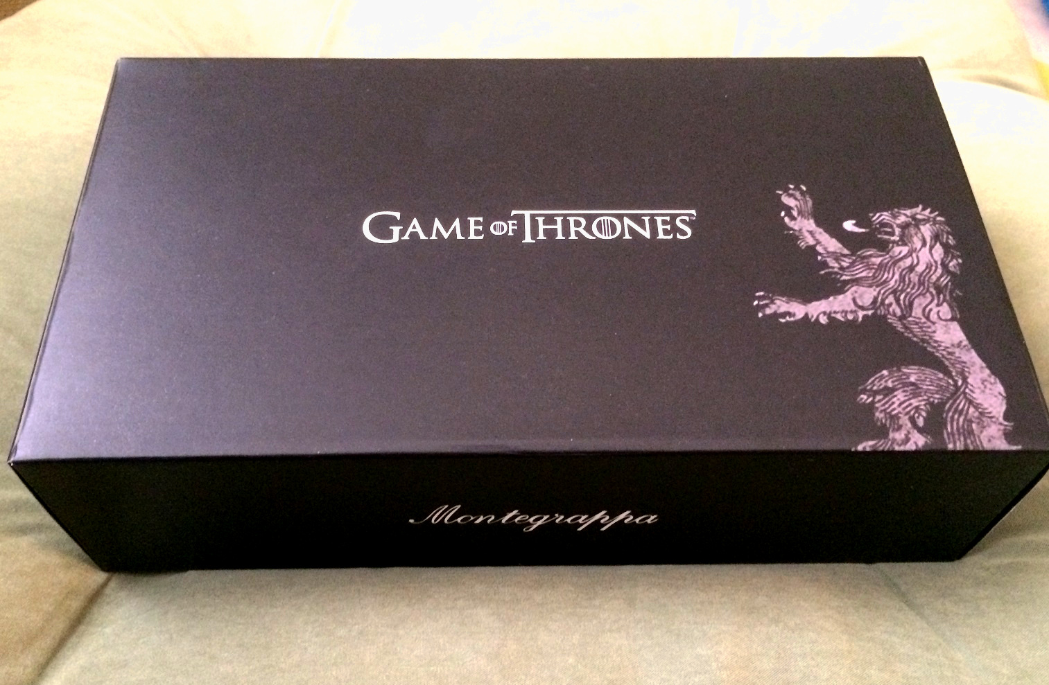 House Lannister Montegrappa Box