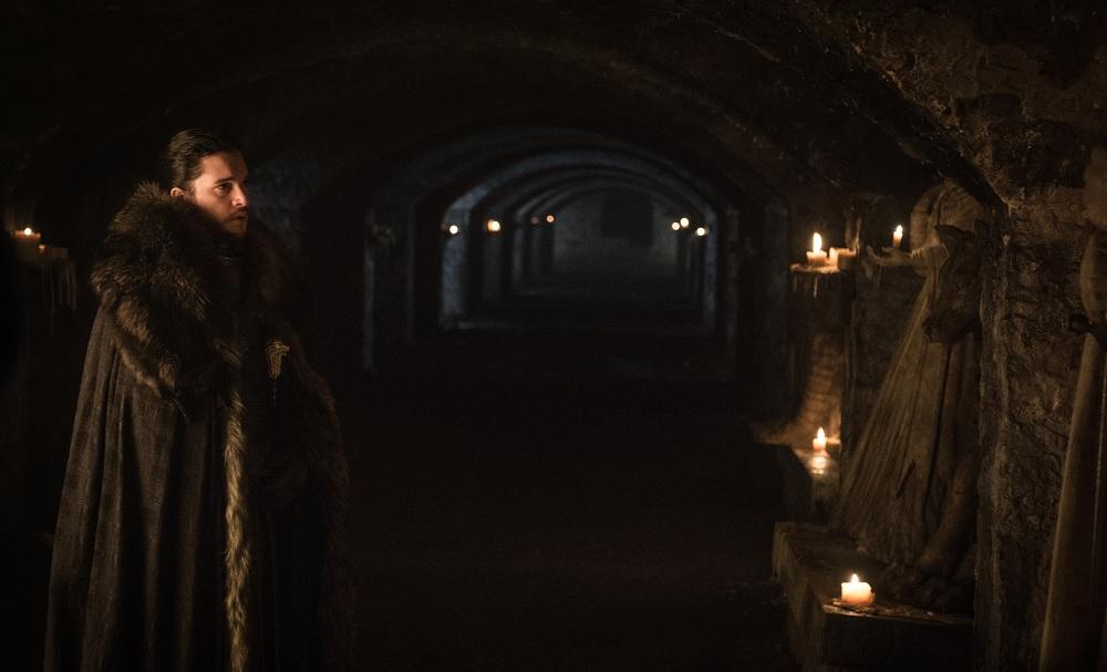 Jon Crypts Winterfell