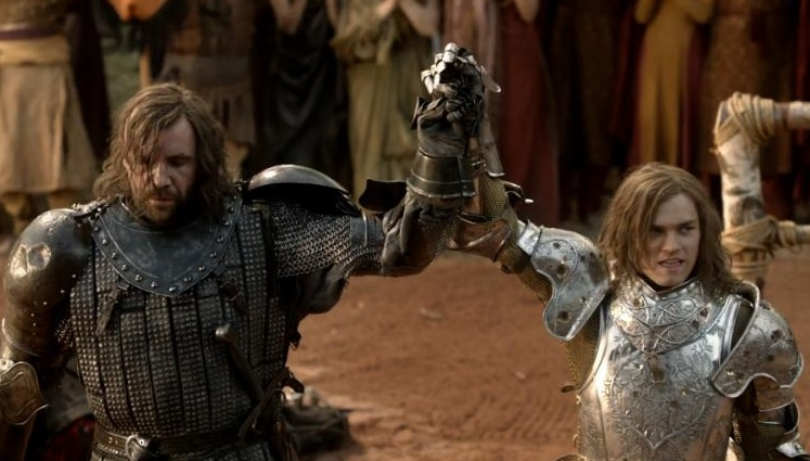 The Hound and Loras Tyrell