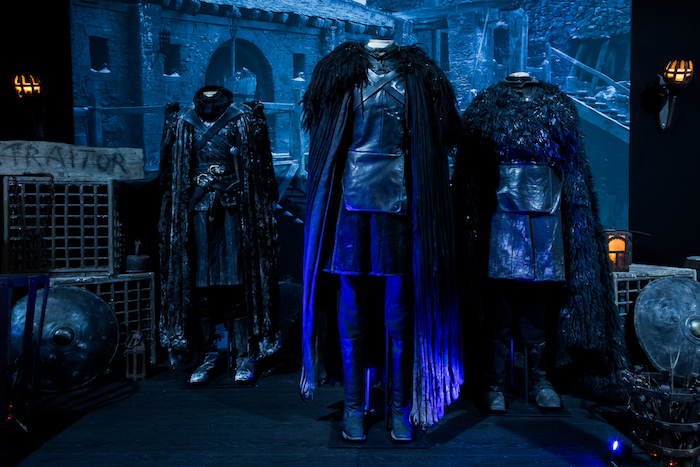 Visitors can see costumes from Jon Snow and Alliser Thorne in the Castle Black room.