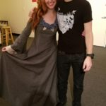 Me with Allison Lobel (Sansa)