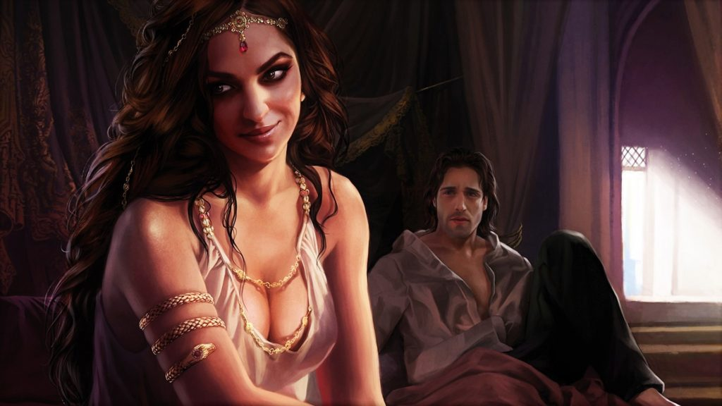 5 Arianne Martell Aerys Oakheart A Feast For Crows Fan Art