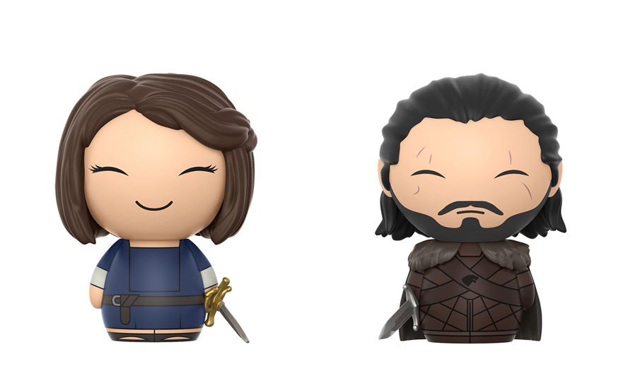 Game of Thrones Jon Snow Arya Stark Dorbz