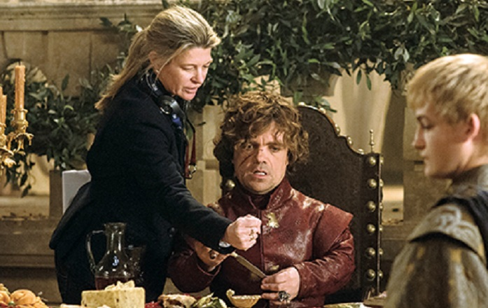 Michelle MacLaren Peter Dinklage Game of Thrones 308 Second Sons